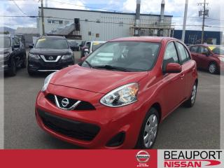 Used 2015 Nissan Micra 1.6 SV ***GARANTIE PROLONGÉE*** for sale in Beauport, QC