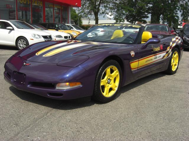 1998 Chevrolet Corvette Convertible Pace Car