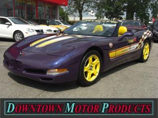 Used 1998 Chevrolet Corvette Convertible Pace Car for sale in London, ON