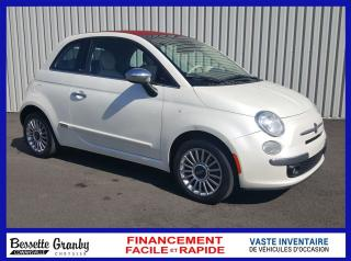 Used 2014 Fiat 500 C Lounge-UN SEUL PROPRIETAIRE for sale in Cowansville, QC