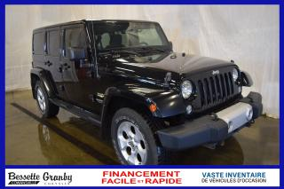 Used 2014 Jeep Wrangler Sahara +Démarreur, Sièges Chauffants+ for sale in Cowansville, QC