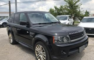 Used 2011 Land Rover Range Rover Sport LUX for sale in Mississauga, ON