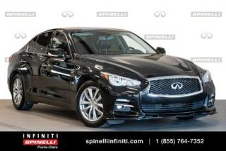 Used 2017 Infiniti Q50 3.0t / PREMIUM / GPS / TOIT / CAMERA 360 PREMIUM / GPS / TOIT / CAMERA for sale in Montréal, QC