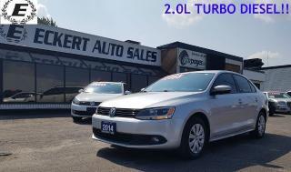 Used 2014 Volkswagen Jetta TRENDLINE+ for sale in Barrie, ON