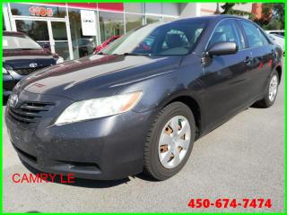 Used 2007 Toyota Camry * SIÈGES EN CUIR * for sale in Longueuil, QC