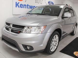 Used 2017 Dodge Journey GT AWD with heated power leather seats, heated steering wheel, rear climate control for sale in Edmonton, AB