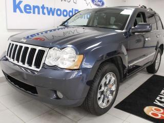 Used 2010 Jeep Grand Cherokee Limited 4x4, sunroof, heated power leather seats, back up cam for sale in Edmonton, AB