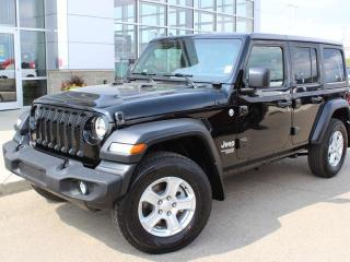 New 2019 Jeep Wrangler UNLIMITED SPORT for sale in Peace River, AB