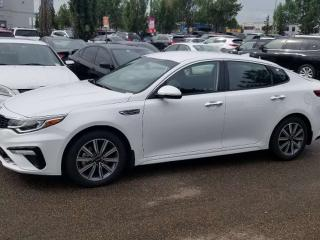 Used 2020 Kia Optima 2.4 EX: HEATED SEATS/STEERING, BLUETOOTH, BACKUP CAM AND MORE! for sale in Edmonton, AB