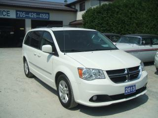 Used 2013 Dodge Grand Caravan Crew, Stow 'N' Go for sale in Beaverton, ON