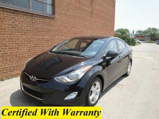 Used 2013 Hyundai Elantra SUNROOF/BLUETOOTH/HEATED SEATS for sale in Oakville, ON