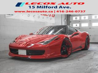 Used 2010 Ferrari 458 ITALIA Twin turbo for sale in North York, ON