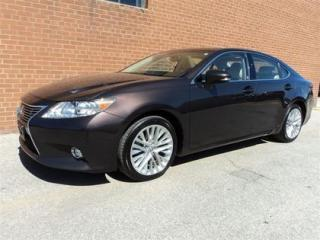 Used 2014 Lexus ES 350 ONE OWNER /NO ACCIDENTS/ULTRA PREMIUM/NAVI/CAMERA for sale in Oakville, ON
