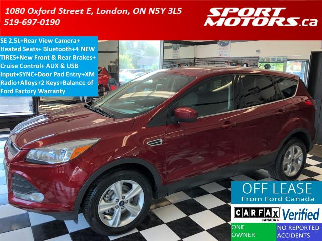 2015 Ford Escape SE+Camera+Bluetooth+New Tires+Brakes+Accident Free