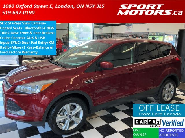2015 Ford Escape SE+Camera+Heated Seats+Bluetooth+New Tires+Brakes