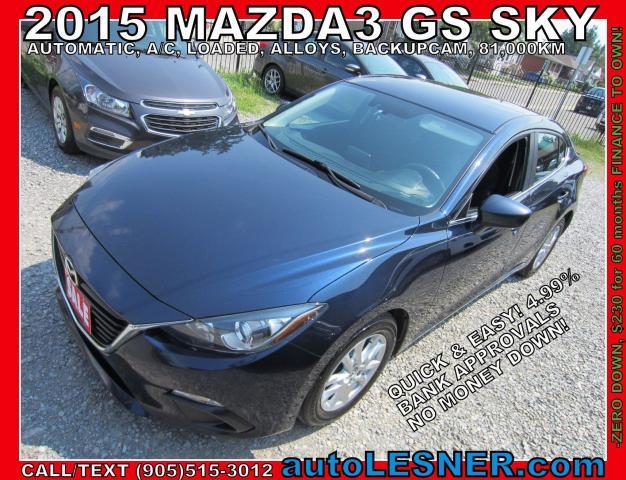 2015 Mazda MAZDA3 -SOLD!