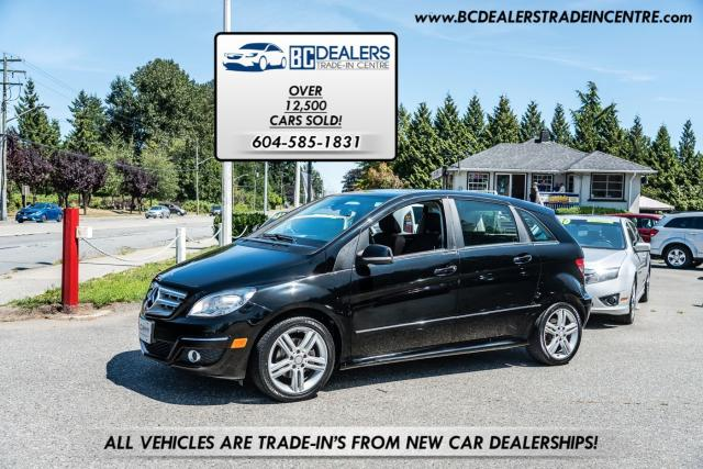 2011 Mercedes-Benz B 200 Pano Roof, Only 104,000km's, No Accidents, Local!