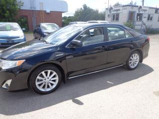 Used 2014 Toyota Camry XLE HYBRID CERTIFIED for sale in Kitchener, ON