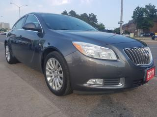 Used 2011 Buick Regal CXL w/1SC-EXTRA CLEAN-LEATHER-BLUETOOTH-ALLOYS for sale in Scarborough, ON