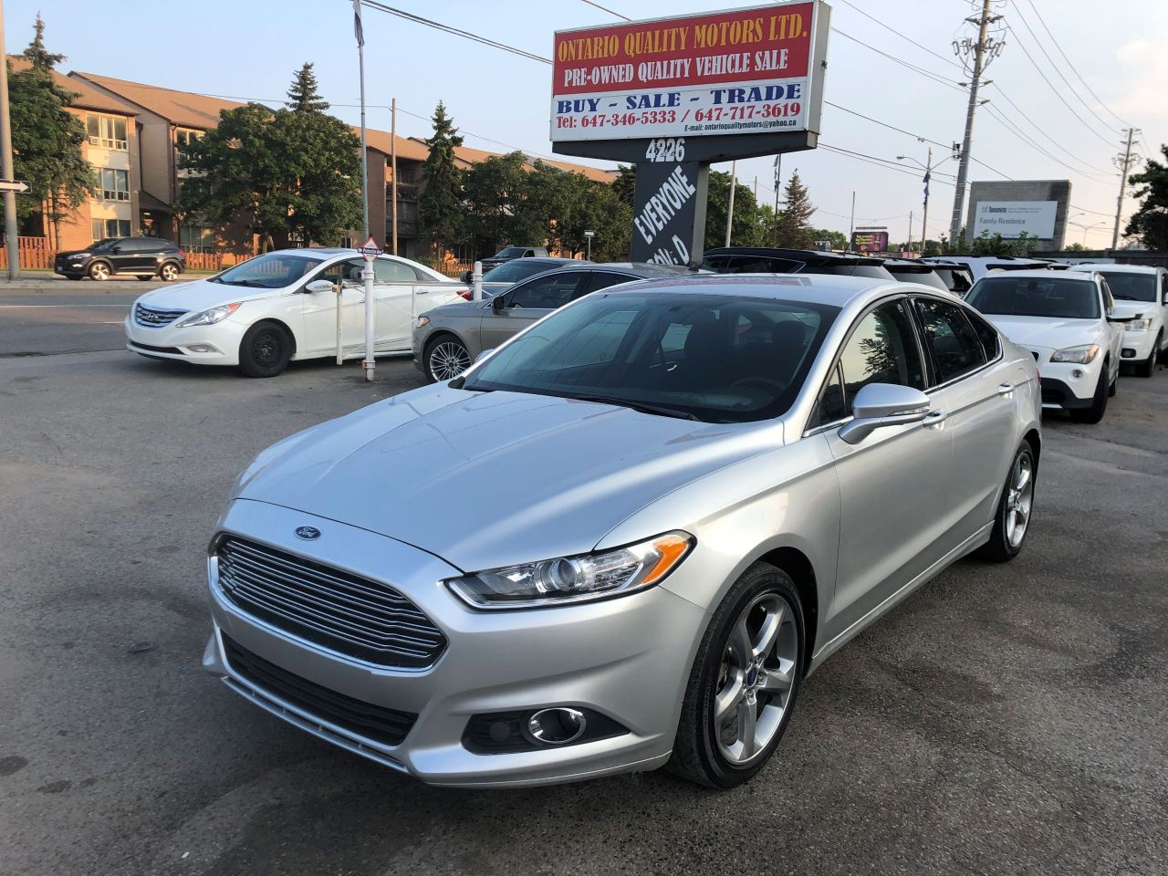 Ontario Quality Motors >> 2013 Ford Fusion Ontario Quality Motors Ltd