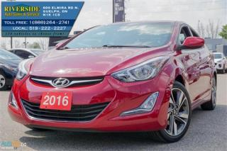 Used 2016 Hyundai Elantra Limited for sale in Guelph, ON