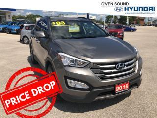 Used 2016 Hyundai Santa Fe Sport SPORT for sale in Owen Sound, ON