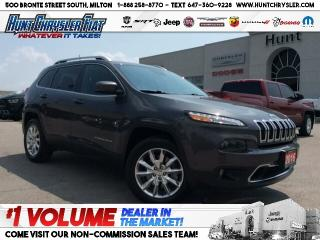 Used 2016 Jeep Cherokee LIMITED | 4X4 | TECH | TOW | V6 | PANO!!! for sale in Milton, ON