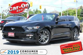 Used 2016 Ford Mustang Premium Convertible LEATHER NAV REAR CAM for sale in Ottawa, ON