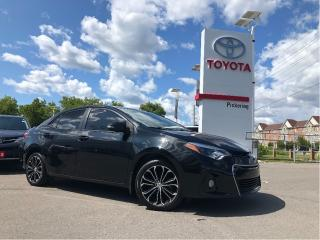 Used 2015 Toyota Corolla S for sale in Pickering, ON