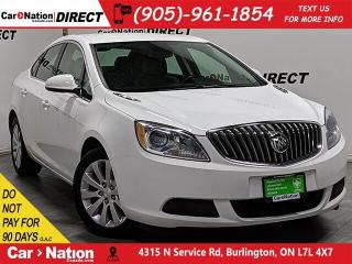 Used 2016 Buick Verano | BACK UP CAMERA| LEATHER-TRIMMED SEATS| for sale in Burlington, ON