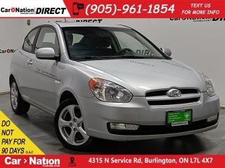 Used 2011 Hyundai Accent GL Sport| AS-TRADED| SUNROOF| for sale in Burlington, ON