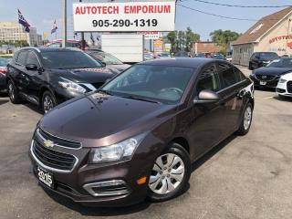 Used 2015 Chevrolet Cruze LT Auto Camera/Btooth/Remote Starter&GPS* for sale in Mississauga, ON