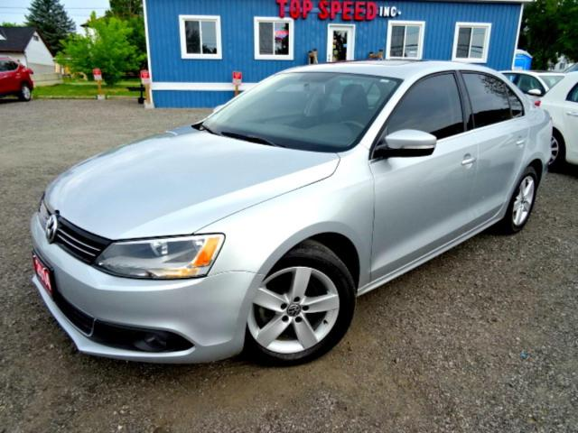 2014 Volkswagen Jetta Comfortline TDI DSG Sunroof Bluetooth Heated Seats Certified