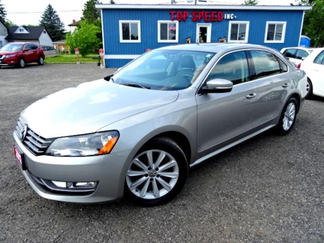 2013 Volkswagen Passat Highline TDI DSG Sunroof Leather Bluetooth Certified 2013 Volkswagen Passat Highline TDI DSG Sunroof Leather Bluetooth Certified