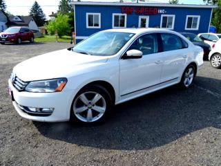 Used 2013 Volkswagen Passat Comfrtline TDI DSG Sunroof Leather Bluetooth Certified 2013 Volkswagen Passat Comfrtline TDI DSG Sunroof Leather Bluetooth Certified for sale in Guelph, ON