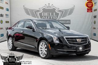 Used 2016 Cadillac ATS Sedan Luxury Collection AWD, NAVI, BACK-UP CAM, SUNROOF for sale in Toronto, ON