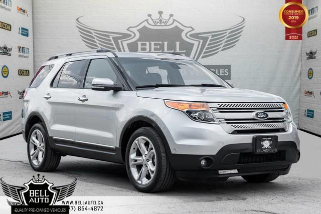 2015 Ford Explorer Limited, AWD, NAVI, BACK-UP CAM, PANO ROOF, LEATHER