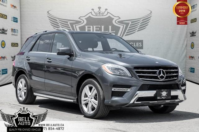 2013 Mercedes-Benz ML-Class ML 350 BlueTEC, NAVI, BACK-UP CAM, PANO ROOF