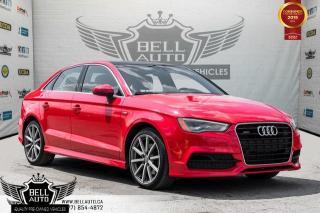 Used 2015 Audi A3 2.0T Technik, S-LINE, NAVI, BACK-UP CAM, SUNROOF, SENSORS for sale in Toronto, ON