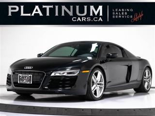 Used 2014 Audi R8 4.2 quattro, 430 HP, NAVI, S TRONIC, CARBON, CAM, for sale in Toronto, ON
