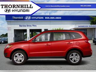 Used 2011 Hyundai Santa Fe Limited  - Sunroof -  Leather Seats for sale in Thornhill, ON