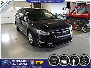 Used 2016 Subaru Impreza 2,0i Awd Hatchback ** Caméra de recul ** for sale in Laval, QC