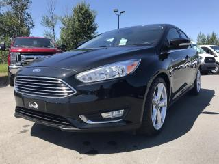 Used 2015 Ford Focus TITANIUM, 5 PORTES, CUIR, TOIT, GPS for sale in Vallée-Jonction, QC