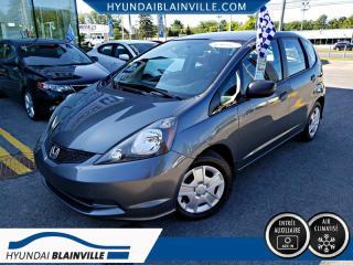 Used 2012 Honda Fit LX A/C, VITRES ÉLECTRIQUES for sale in Blainville, QC
