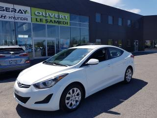 Used 2016 Hyundai Elantra GL, 39522 km a/c, bluetooth, banc chauffant. for sale in Chambly, QC