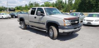 Used 2006 Chevrolet Silverado 2500 HD 6.0L 156k safetied LS for sale in Madoc, ON