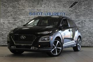 Used 2018 Hyundai KONA ULT*GPS*CUIR*TOIT* for sale in St-Laurent, QC