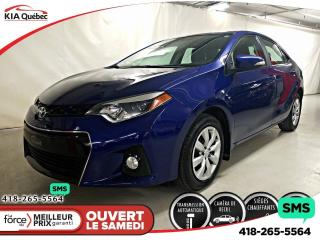 Used 2016 Toyota Corolla S* AT* CAMERA* A/C* SIEGES CHAUFFANTS* for sale in Québec, QC