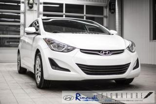 Used 2016 Hyundai Elantra L chez  Rimouski Hyundai for sale in Rimouski, QC