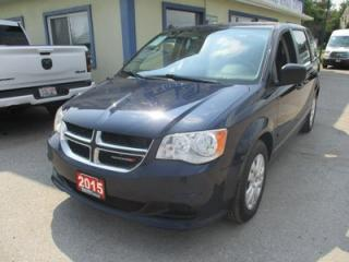 Used 2015 Dodge Grand Caravan FAMILY MOVING SE MODEL 7 PASSENGER 3.6L - V6.. ECON-PACKAGE.. REAR STOW-N-GO.. CD/AUX INPUT.. KEYLESS ENTRY.. for sale in Bradford, ON